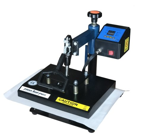 "Fancierstudio Power Heat Press Swing Away Heat Press T Shirt Press 9""x12"" Heat Press Rhinestone Heat Press 9x12 Blue Black"