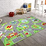 "79""X40"" Kids Rug Play mat for Toy Cars, Safe,Colorful and Fun Play Rugs with Roads for Bedroom and Kid Rooms, Car Rug to Have Hours of Fun on?Area Rug Mat with Non-Slip and No Chemical Smell Backing"