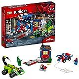 LEGO Juniors/4+ Marvel Super Heroes Spider-Man vs. Scorpion Street Showdown 10754 Building Kit (125 Piece)