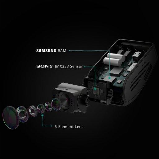 Sony IMX323 Sensor - Aukey DR02 Dashcam Autokamera