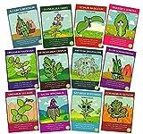 Non-GMO Herb Seed Set (12 Varieties) - Thyme, Chives, Cilantro, Summer Savory, Sage, Dill Bouquet, Garlic Chives, Italian Parsley, Mustard, Oregano, Sweet Marjoram, Sweet Basil