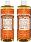 Dr. Bronner's Organic Pure Castile Liquid Soap, Tea Tree Oil, 32 oz, 2 pk