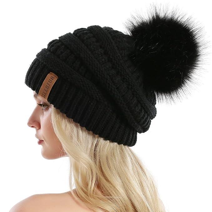 Gorro negro y caliente para invierno de mujerhttps://amzn.to/2zDMJG7