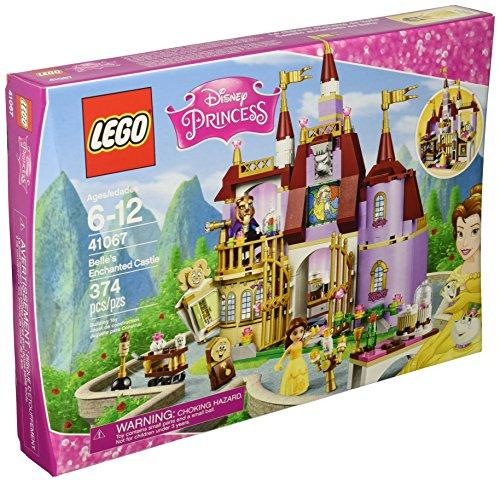 618Hg2oqbPL LEGO Disney Princess 41067 Belles Enchanted Castle Building Kit (374 Piece)