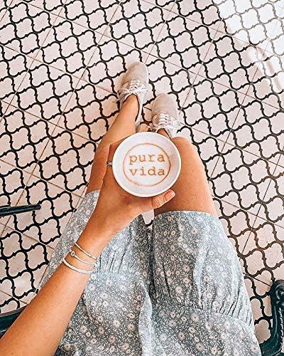 Pura Vida Gold or Silver Daisy Bracelet - Waterproof, Artisan Handmade, Adjustable, Threaded, Fashion Jewelry for Girls/Women 4