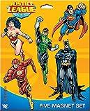 Ata-Boy DC Comics Set of Five Justice League Character Magnets