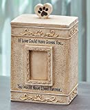 The Lakeside Collection Sentimental Pet Urns- Cream