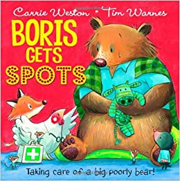 Image result for Boris gets spots book cover""