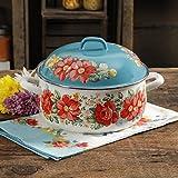 The Pioneer Woman Vintage Floral 4-Quart Dutch Oven