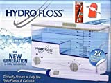 Hydro Floss Oral Irrigator BUNDLED With FREE Pocket SulcaBrush & Pick A Dent