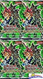 Yugioh Duelist Pack YUGI (DPYG) Lot of FOUR(4) Unsearched Factory Sealed Booster Packs with 20 Cards!
