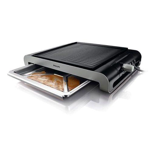 Hasil gambar untuk Philips Table GrillRibbed Plate HD4417/20
