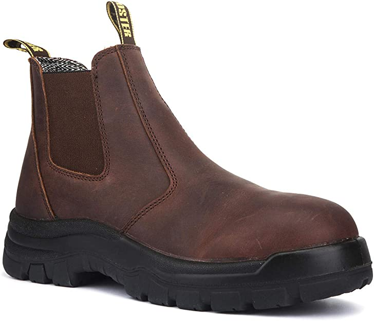 ROCKROOSTER Soft Toe Work Boots