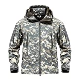 Product review for TACVASEN Men's Special Ops Military Tactical Soft Shell Jacket Coat