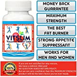 VITSLIM (VITAMIN+WEIGHT LOSS) 36 Slimming Capsules . 60 Days Money Back Guarantee! Really Works. FAT BURNER + APPETITE SUPPRESSANT