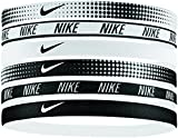 Nike Women's Printed Headbands Assorted 6PK White/Black Size One Size