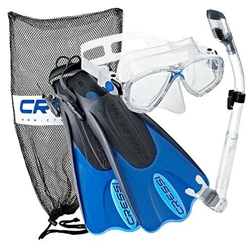 Cressi Palau Mask Fin Snorkel Set