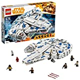 LEGO Star Wars Solo: A Star Wars Story Kessel Run Millennium Falcon 75212 Building Kit and Starship Model Set, Popular Building Toy and Gift for Kids (1414 Piece)