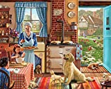 White Mountain Puzzles Home Sweet Home - 1000Piece Jigsaw Puzzle