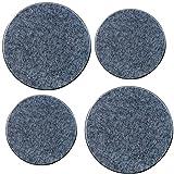 Reston Lloyd Electric Stove Burner Covers, Set of 4, Black Granite