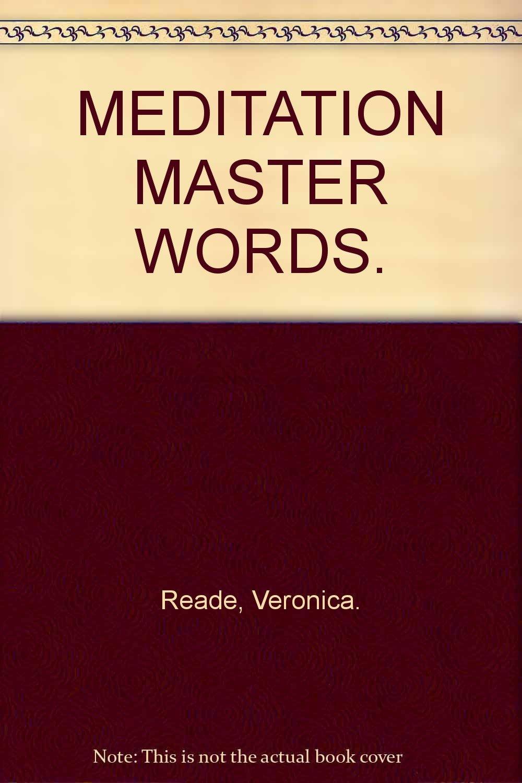 Download Meditation Master Words