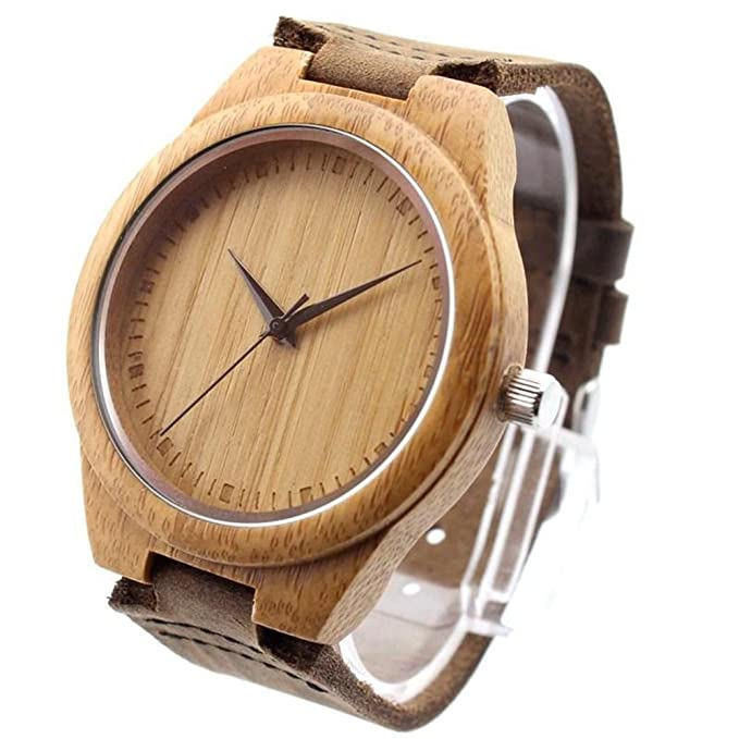 Wood and Lather watch