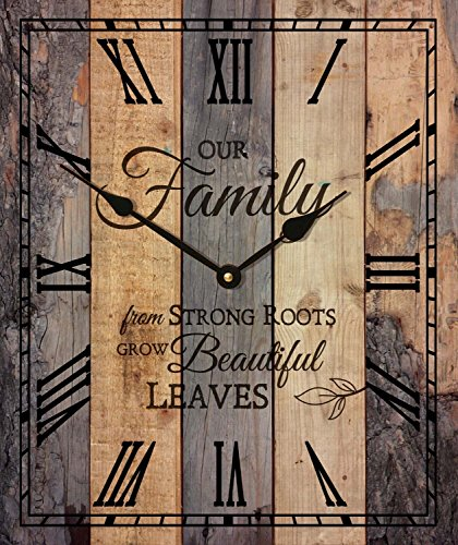 Export Portal Word Art For Walls Decor: Charming, Timeless And Cute Unique Wall Clocks