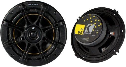 """Kicker DS65 6.5"""" Coax Speakers"""