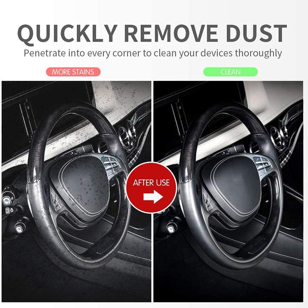 Dust Cleaning Mud For Car Universal Reusable Car Interior Cleaner Slime For Pc Tablet Laptop Keyboard Automobile Vents Printers Fan Parts Dc Qzhmkj Pet Car Interior Cleaning Gel Car Detailing Tools Automotive Detailing Tools