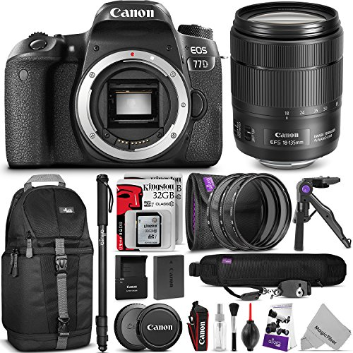 Canon EOS 77D Bundle 5