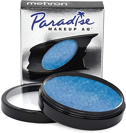 Mehron Paradise Pro Face Paint Brilliant Dark Blue Azur Bda 1 4 Oz Amazon Co Uk Beauty