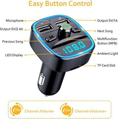 Comsoon-Wireless-Bluetooth-Car-Transmitter-Reviews