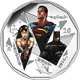 2016 CA Batman V Superman Dawn Of Justic Power Coin TRINITY e 1 Oz Silver Coin 20$ Canada 2016 Proof
