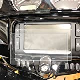 2) 2014-2018 Compatible with Harley Davidson Street Glide Boom Box Motorcycle Screen Saver 2pc Custom Fit Invisible High Clarity Touch Display Protector Minimizes Prints 6.5 Inch