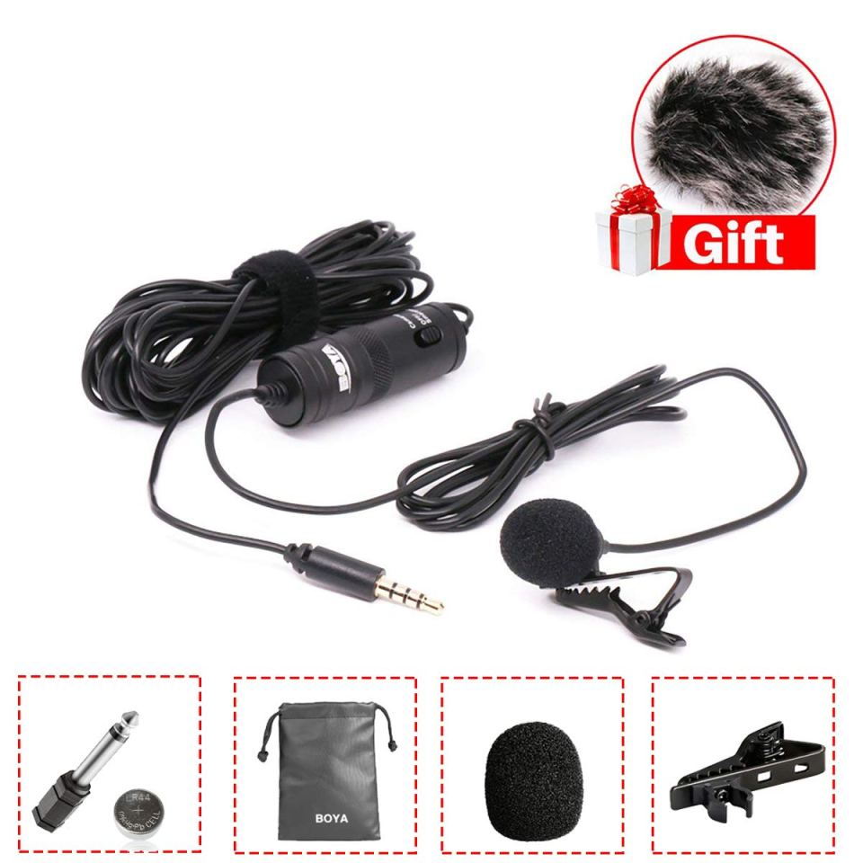 BOYA BY-M1 Lavalier Microphone for Smartphones