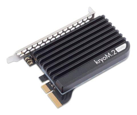 Aquacomputer kryoM.2 evo 取り付け例