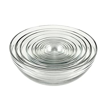 Anchor Hocking 10pc Glass Mixing Bowl Set