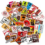 Funny Hard Hat&Helmet Stickers,Funny Decals Construction,Electrician,Oilfield,Fire Crew, Mechanic- Skateboard Sticker Decal.Hat Sticker,Tool Box Stickers