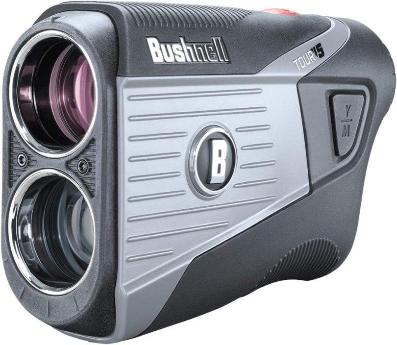 Bushnell Tour V5 (Standard) Golf Laser Rangefinder Patriot Pack Bundle