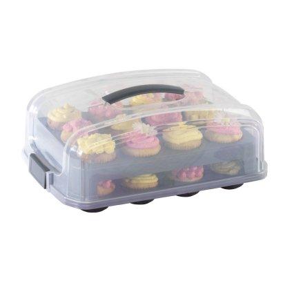 Tupper transporte para cupcakes