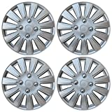 Drive Accessories KT-1011-15S/L, Nissan, 15' Silver Replica Wheel Cover, (Set of 4)
