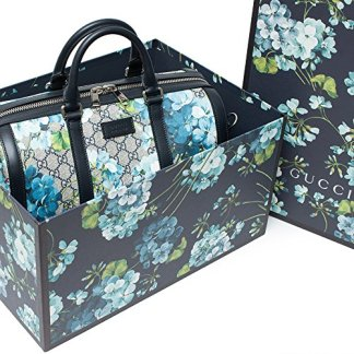 9f8b3c5c517 You re viewing  Gucci Blue Small gg Blooms Blossom Duffle Bag Canvas Boston  Bag Authentic New Amazon.com Price   2