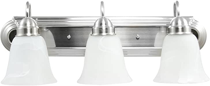 Efficient Lighting Contemporary 3 Light Bathroom Lighting ...