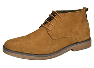 Image result for BRUNO MARC NEW YORK Men's Classic Original Suede Leather Desert Storm Chukka Boots
