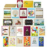Hallmark All Occasion Handmade Boxed Greeting Card Assortment (Pack of 24)-Birthday, Baby, Wedding, Sympathy, Thinking of You, Thank You, Blank