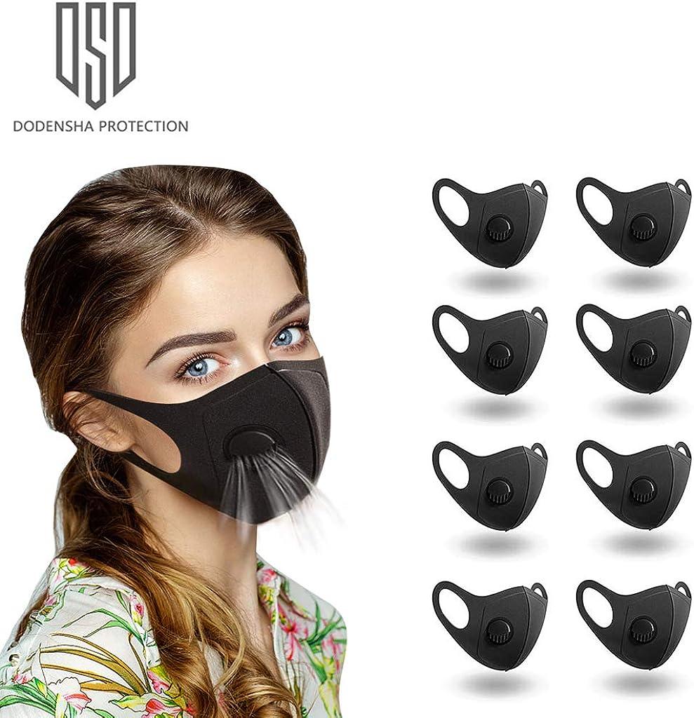 Amazon.com: 8 pcs Face Mask, Anti Particle Dust-Proof Anti ...