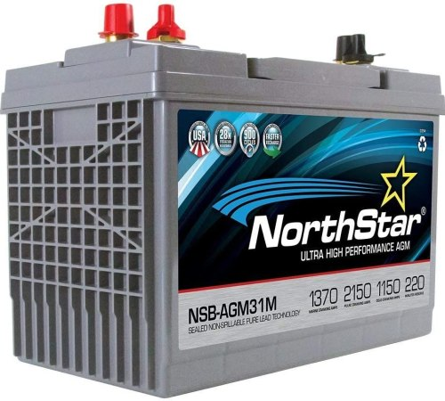 NorthStar NSB-AGM31M AGM Group 31 Marine Battery