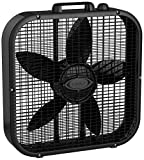 Lasko Dècor Colors 20″ Box Fan – Black