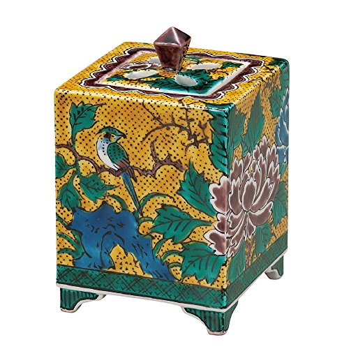 Japanese Kutani Yaki Porcelain Incense Burners Yoshidaya