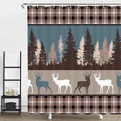 Cabin Shower Curtains